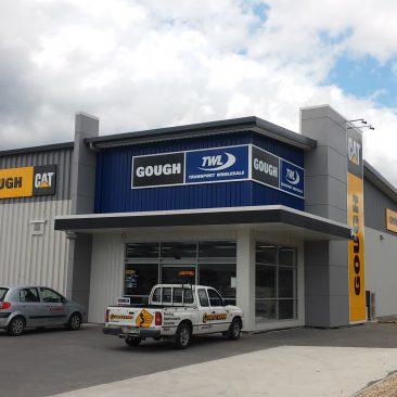 Gough Whangarei Building Signage