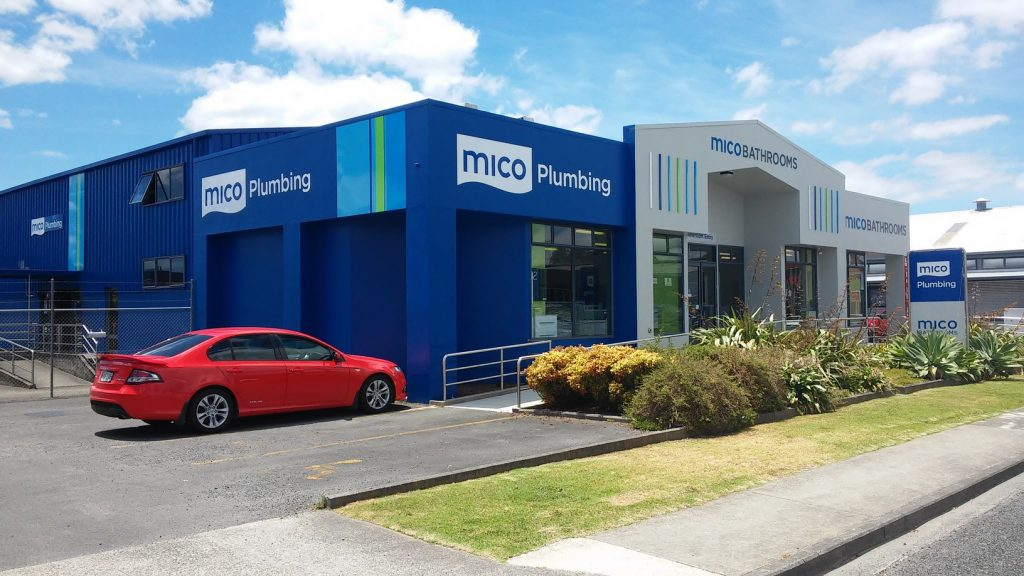 Mico Showroom Building Signage