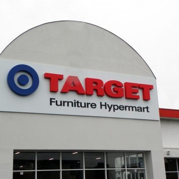Target Building Signage