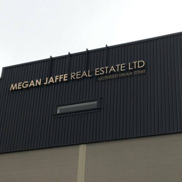 Megan Jaffe Real Estate Signage