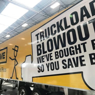Pak and Save Truck Curtain